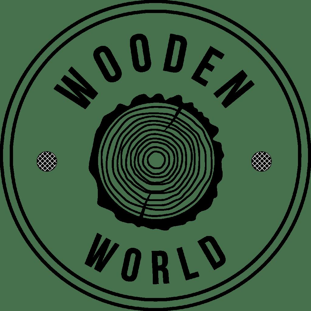 Logo wooden world