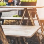 Pronájem svatebního stolu a lavic