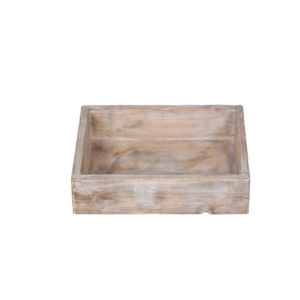 Dřevěná vintage bedýnka