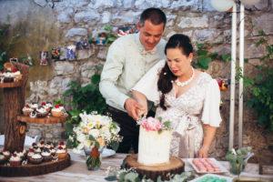 Svatební dekorace ve vintage stylu