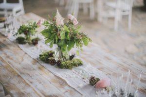 Svatební nábytek a dekorace k pronájmu