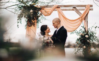 Svatební brána vintage styl